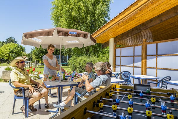 Camping in Isère met snackrestaurant