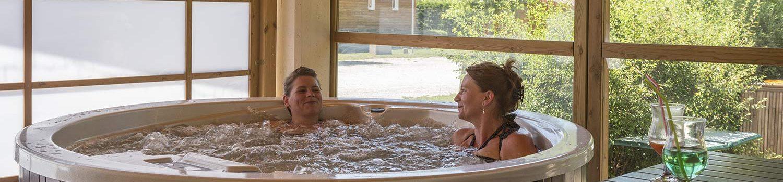 camping avec spa en Isère