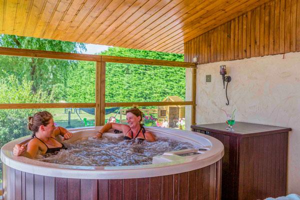 Camping met gratis spa Isère